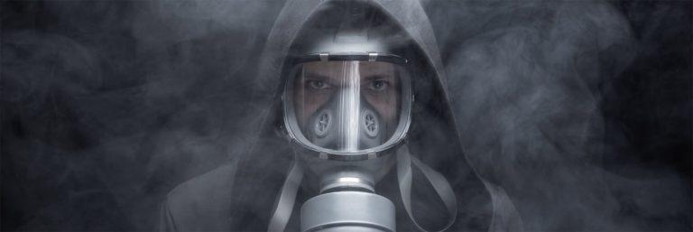 Masque à gaz - Fond d'écran