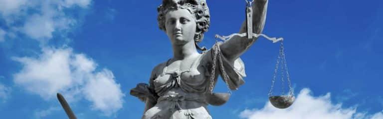 Dame Justice - Photographie de stock